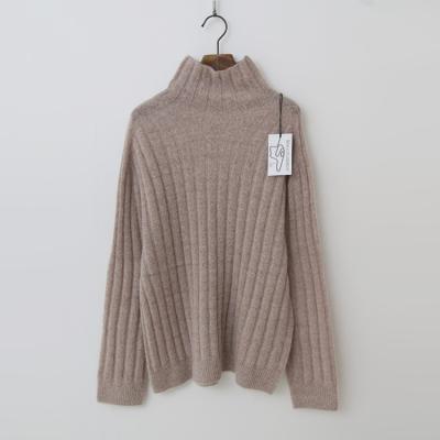 Laine Mohair Alpaca Wool Turtleneck Sweater
