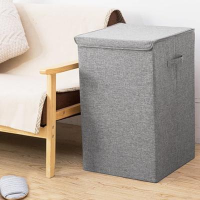 패브릭 빨래 세탁물 세탁 통 바구니 햄퍼 (대형)