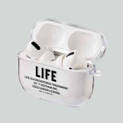 LIFE JOURNAL LOGO AIRPOD PRO HARD CASE_BLACK