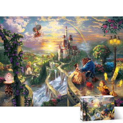 1000피스 직소퍼즐 미녀와 야수 고백 TPD1000-008