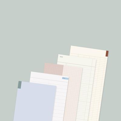 판다몽 | (5종 세트) 세로형 프리노트 100매 메모지