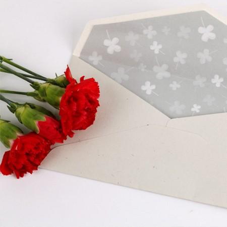 노블레스 카네이션 - 18k금장 책갈피카드