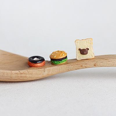 [콩지] 미니어쳐 패스트푸드 장식