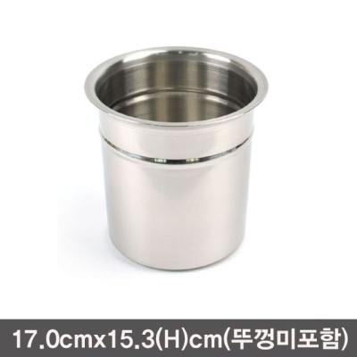 낮은스텐소스통 뼈통 스텐보관용기-3호
