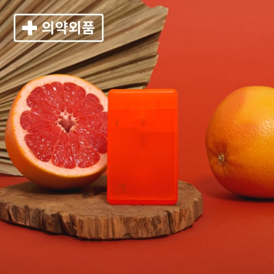 [콜린스] 휴대용 손소독제 - 자몽 레드