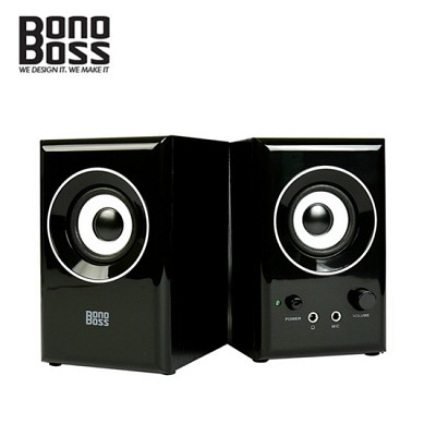 BONOBOSS 스피커 BOS-A2 (2채널 / 우든MDF원목 / 하이그로시 / 마크네틱쉴드 유닛)