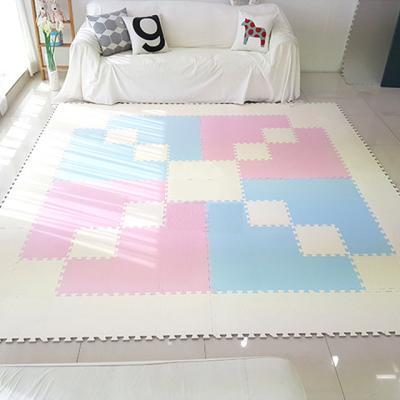 아도라하우스 국내제작 유아매트 놀이매트 퍼즐매트 35x35cm 60장