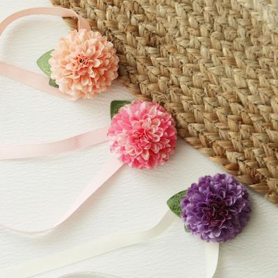 브라이덜샤워꽃팔찌 - 폼폼(3개set)