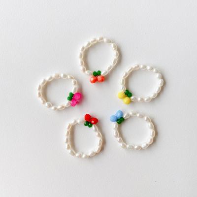 Cherry Pearl Ring - 담수진주