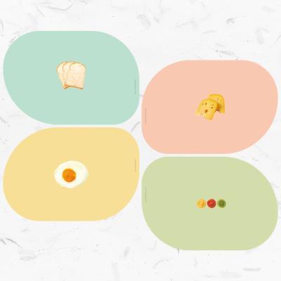판다몽 | 리얼아트 테이블 매트 4종세트 | 식탁매트