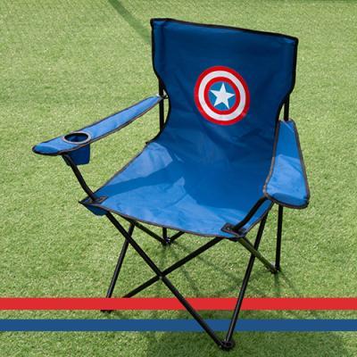 마블 접이식 경량 캠핑 의자 낚시 체어 캡틴아메리카