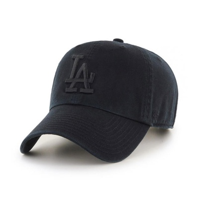 MLB모자 엘에이 다저스 올블랙