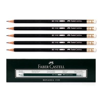 12p 블랙파버 HB 지우개 연필