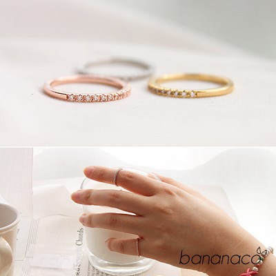 Simple knuckle ring (2개 1세트)