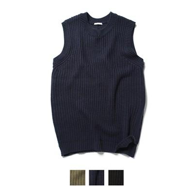 Dry Acrylic V Neck Vest Knit