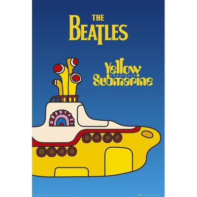 LP0614 비틀즈(BEATLES) 옐로우 서브 마린 (61X91)