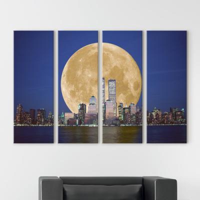 cv641-보름달에덮힌도시_대형노프레임세트
