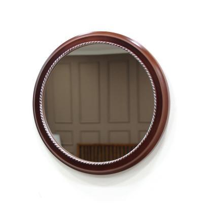 (kcp067)심플원형 벽거울 (엔틱실버)