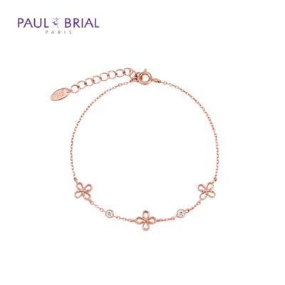 폴브리알 PABB0045 큐빅 꽃 팔찌