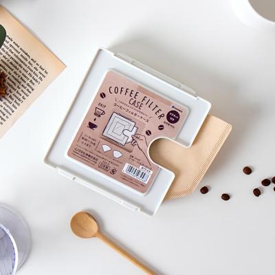 일본 사각 커피필터 보관케이스 보관용기