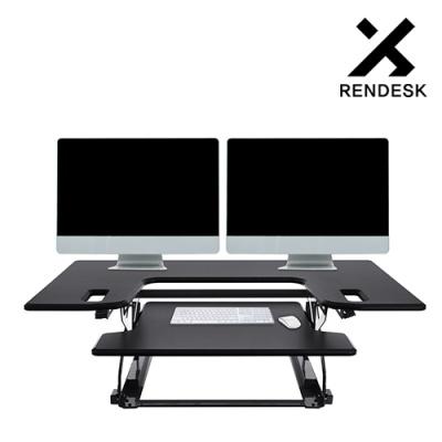 렌데스크 SRD-2000 WIDE 스탠딩데스크 높이조절책상