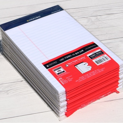 옥스포드 A5 40매×10권 리갈패드-화이트 ALP71210