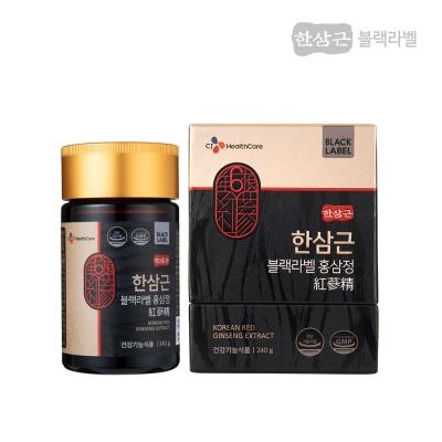 CJ헬스케어 한삼근 블랙라벨 홍삼정