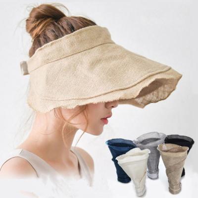 루앙 여성 자외선차단 와이어햇 여름모자 챙모자