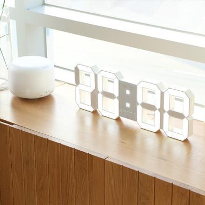 뉴버전 무소음 LED 대형 벽시계 리모컨형