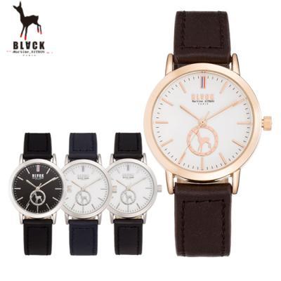 [블랙마틴싯봉] 여성 가죽 손목시계 BKL1660L