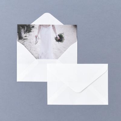 소프트 화이트 엽서봉투 10매