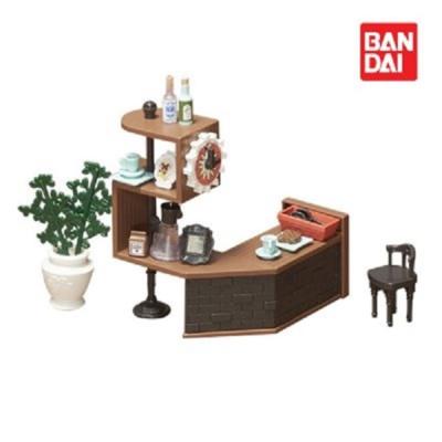 반다이 하코룸 카페카운터 키트 / 조립 장난감