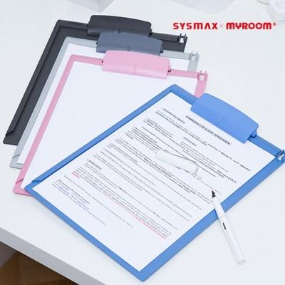 시스맥스Z A4 클립보드 서류받침 결제판 영수증철X1EA W3BC7AF