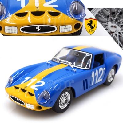 1:24 페라리 250 GTO 레이싱카 미니카 다이캐스트