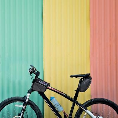아이베라 생활방수 자전거 스마트폰 탑튜브 가방