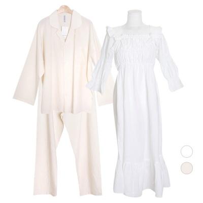[쿠비카]오가닉 코튼 원피스 커플잠옷 WM306