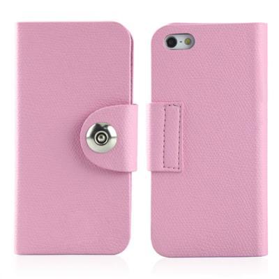 아이폰 5용 리사 플립케이스 (라이트 핑크)