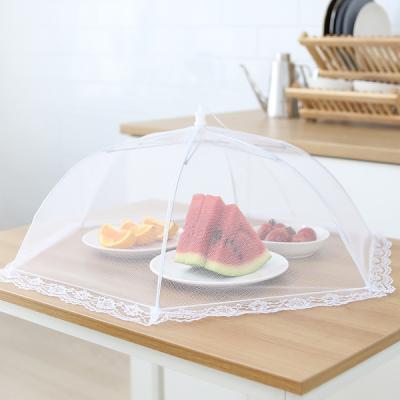 먼지차단 위생보관 음식덮개 원터치 접이식 푸드커버
