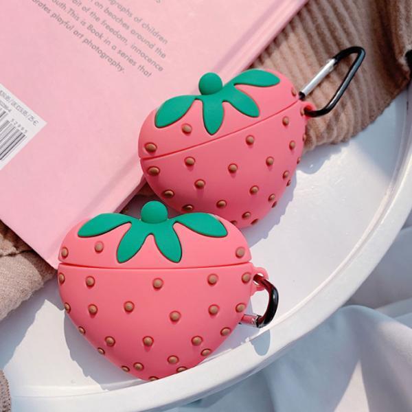 딸기 에어팟케이스