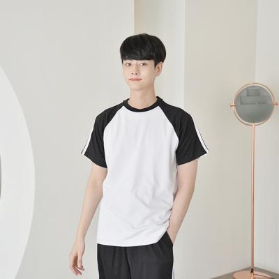 소매 투라인 반팔티 (4 colors) 티셔츠