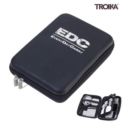 [트로이카] EDC CASE 디지털 파우치 블랙/실버 (CBO12/BS)