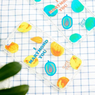 젤리_드로잉_아몬드나무(블루) 마리몬드