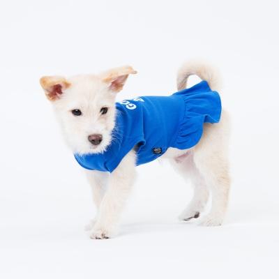 [스니프 X 오보이] 캠페인 베이직 원피스 (블루)