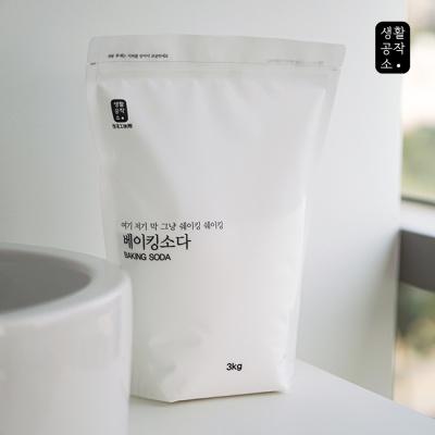 [생활공작소] 베이킹소다 3kg x 4입