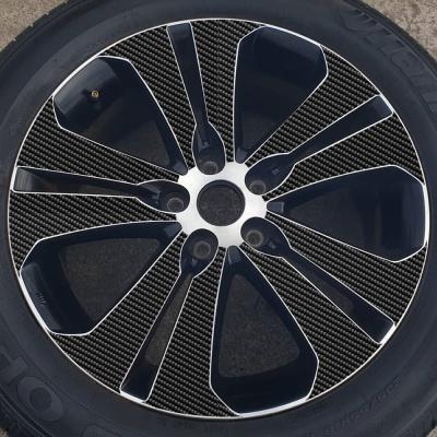 기아 스포티지R 18인치 카본블랙 휠스티커/1세트