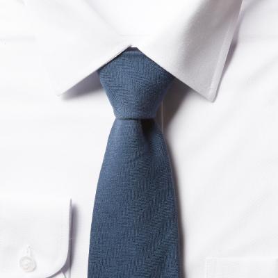 남자 면 넥타이 (라이트 블루)