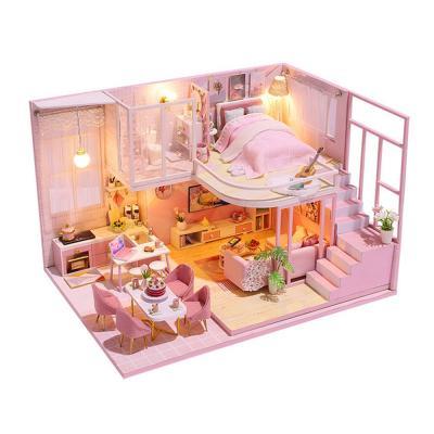 DIY 미니어처 하우스 - 핑크 드림 빅 하우스