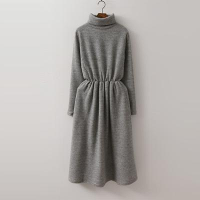 Winter Warm Turtle Long Dress