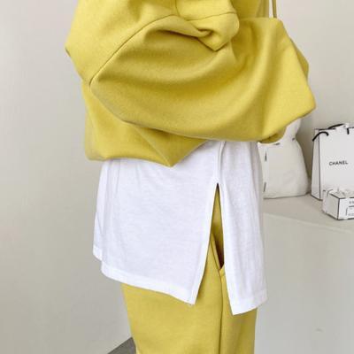 Cotton Sweatshirt Skirt