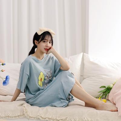 테라우드 여성용 디즈니 셔링 원피스 잠옷 파자마